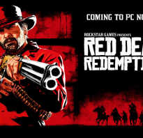 Red Dead Redemption 2 — 5 ноября выйдет на PC