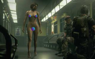Resident Evil 3: Remake — Demo получила голый мод