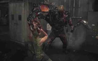 Resident Evil 2: Клэр — Гараж прохождение