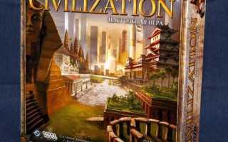 Civilization настольная игра