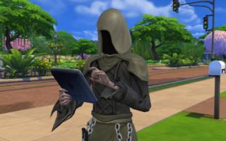 The Sims 4 — Гайд катастрофы с симом пожар и долги